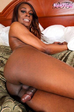 Big Booty Black Tranny Ass Tucking