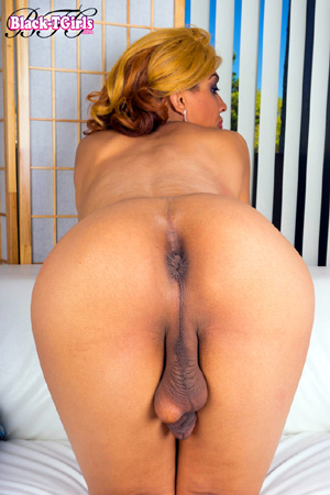 Big Booty Black Tranny Cock