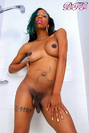 Was naked black women big tits