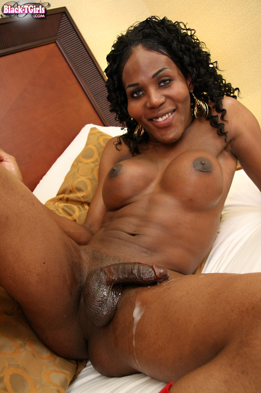 Shemale Sucking Big Black Dick